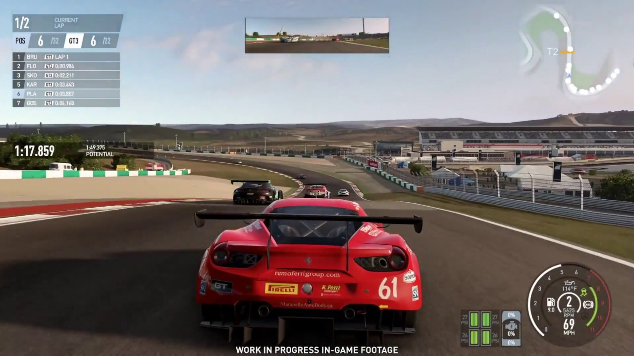 Project Cars 2 - 25 Minutes of New Gameplay | E3 2017 (1080p 60fps) - YouTube