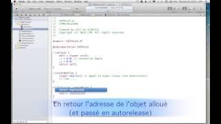 1.2 - XCode  Les bases avec ARC ou sans ARC - autorelease - partie 3