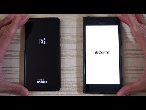 Download Youtube: OnePlus 5T vs Sony Xperia XZ Premium with Oreo - Speed Test! (4K)