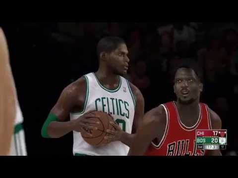 NBA 2k17 - 1985 Bulls vs 1985 Celtics