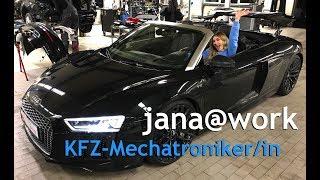 jana@work - Das Praktikum der anderen Art als Kfz-Mechatronikerin