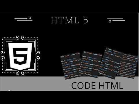 Code For Forms In Html 5 |Lecture 1| How We Create Forms In Html(Part 2)
