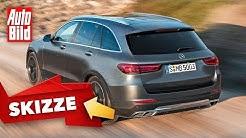 Mercedes GLC (2021): Skizze - neu - SUV - Marktstart - Info