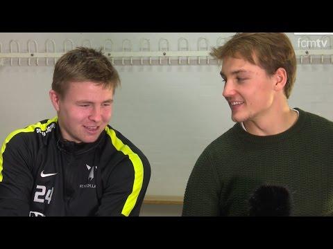 Kristian Riis og Mads Døhr Thychosen om at være ung i FCM