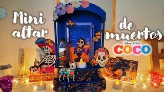 ♡ Así hice mi mini altar de muertos de coco 2020 | Erandy Paz