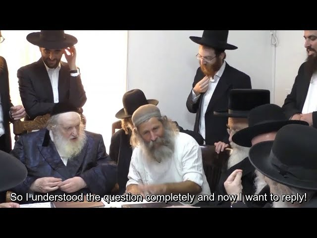 NEW 5780 INDIA Wigs/Sheitel Industry Investigation MEETING w/ Rav Moishe Sternbuch & Head Rabbis