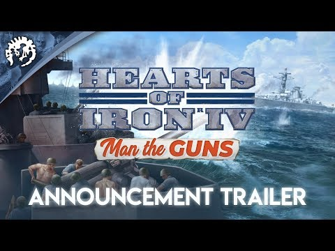 Hearts of Iron IV: Man the Guns - Announcement Trailer