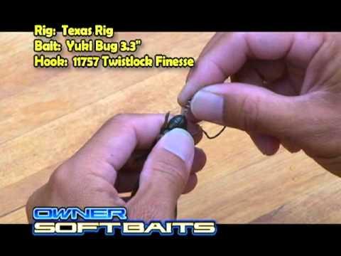 baby yuki bug - owner soft baits by owner hooks - youtube, Soft Baits