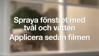 Film till fönster