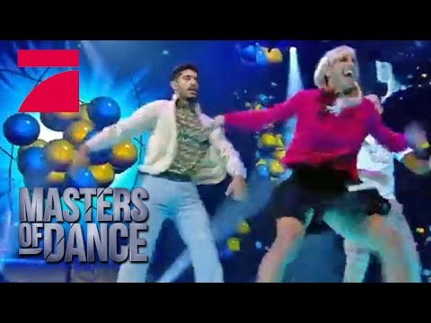The Big Bang Theory Dance - Patrox Antony & Michael   Masters of Dance  Finale  ProSieben