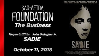 Conversations with John Gallagher Jr. and Megan Griffiths of SADIE