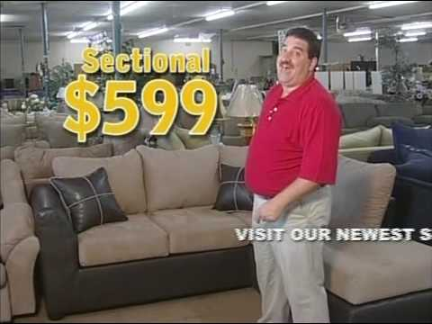 Lovely Crazy Fat Guy Furniture Commercial   YouTube