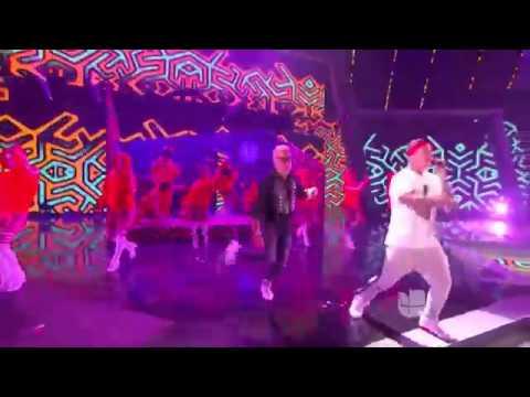 J Balvin cantó 'Mi Gente'    Premios Juventud