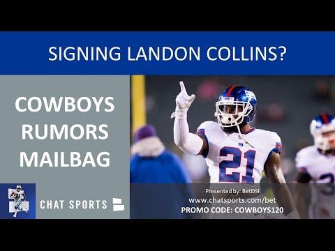 Cowboys Rumors Mailbag: Cole Beasley's Future, Ezekiel Elliott's Workload & Signing Landon Collins