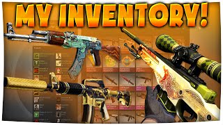 CS:GO - My Loadout/Inventory! | Dragon Lore, Fire Serpent & More! (Inventory Showcase)