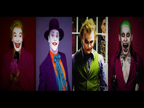 The Joker Actors: 1966, 1989, 2008, 2016