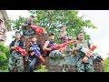 LTT Nerf War : SEAL X Warriors Nerf Guns Fight Attack Criminal Group Voracious