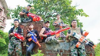 LTT Nerf War : SEAL X Warriors Nerf Guns Fight Attack Criminal Group Voracious