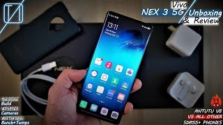 Vivo NEX 3 Unboxing, Review & Benchmark Test – More Than Just That Waterfall Display?