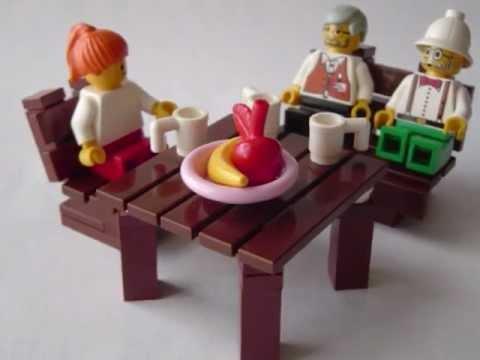 How To Make Lego Furniture 5 Youtube
