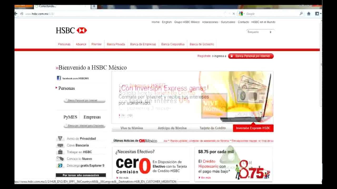 Tutorial Como Recargar Saldo De Paypal Desde Tarjeta Hsbc Youtube