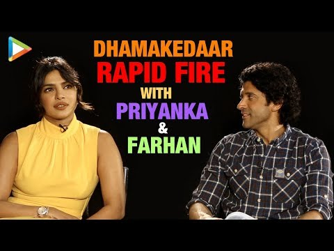 Priyanka Chopra & Farhan Akhtar's BLOCKBUSTER Rapid Fire | Don 3 Rumour | Nick Jonas | Biopic Mp3