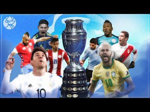 ¡Listos los cuartos de final de la Copa América 2021! | Los Pleyers