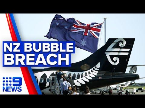 Coronavirus: New Zealanders breach Trans-Tasman travel bubble | 9 News Australia