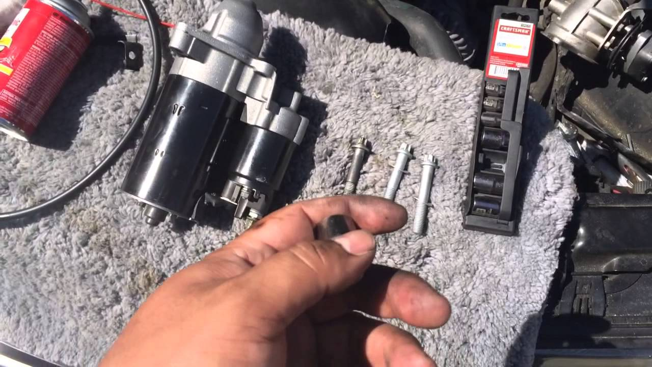 TIP Removing Starter BMW 5 Series 3 Series E90 E39 528I 328I M5 M3 ...