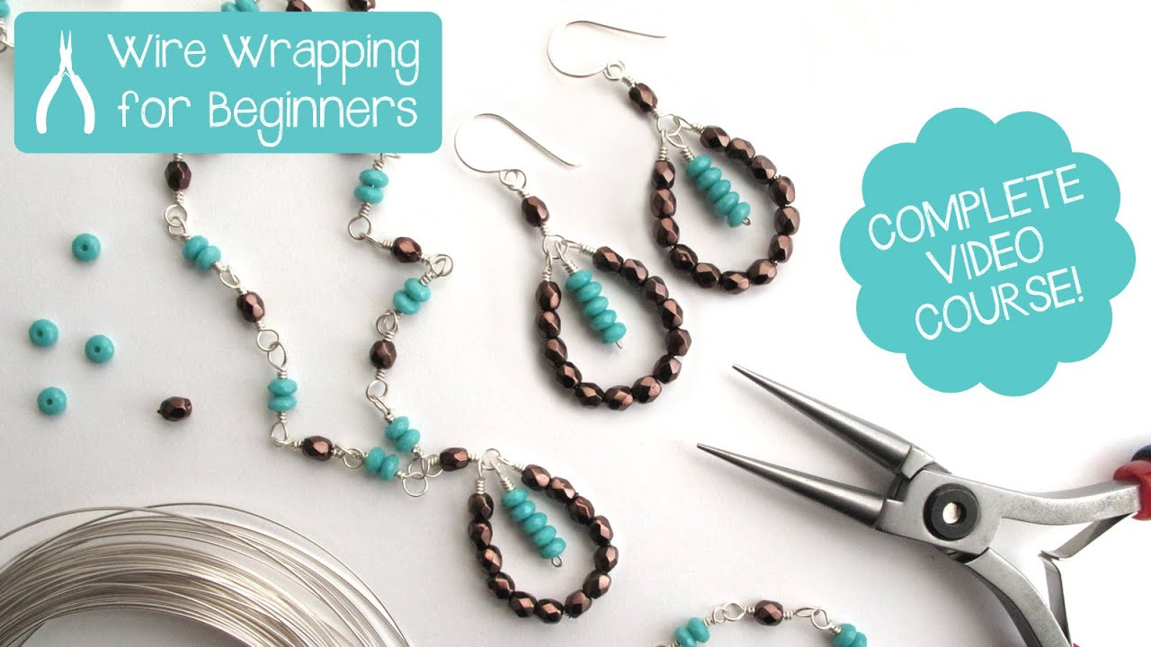 Jewelry Making: Wire Wrapping for Beginners - Class Teaser / Promo ...