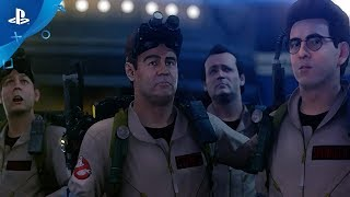 The beloved and critically acclaimed ghostbusters video game is back remastered for ps4! join at https://playghostbusters.com