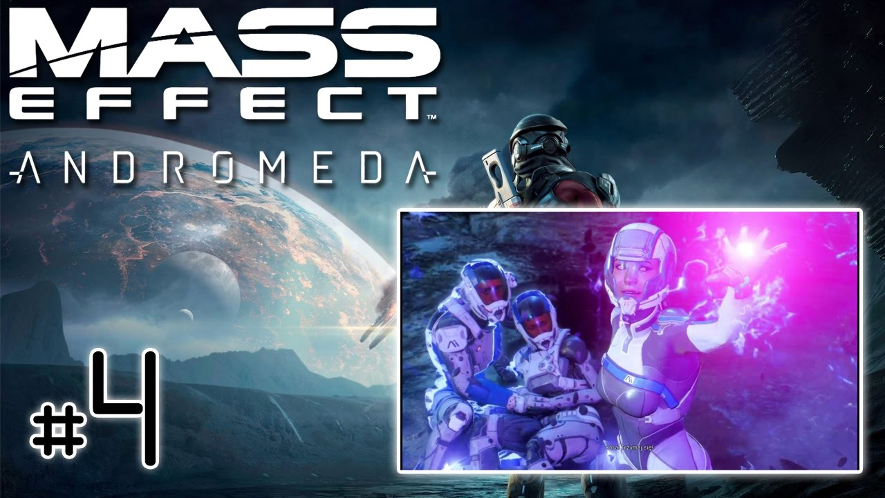 "Let's Play: Mass Effect Andromeda [PS4] (na ślepo) odc. 4 – ""Odnaleziona Cora"""