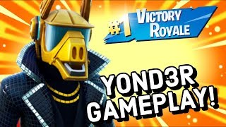 YOND3R Skin Gameplay In Fortnite