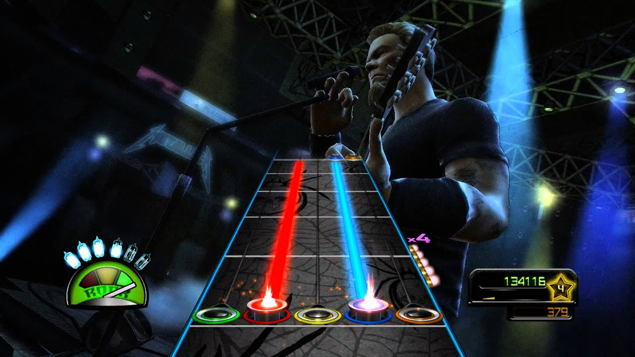 Guitar Hero Metallica: Intro/For Whom The Bell Tolls ...