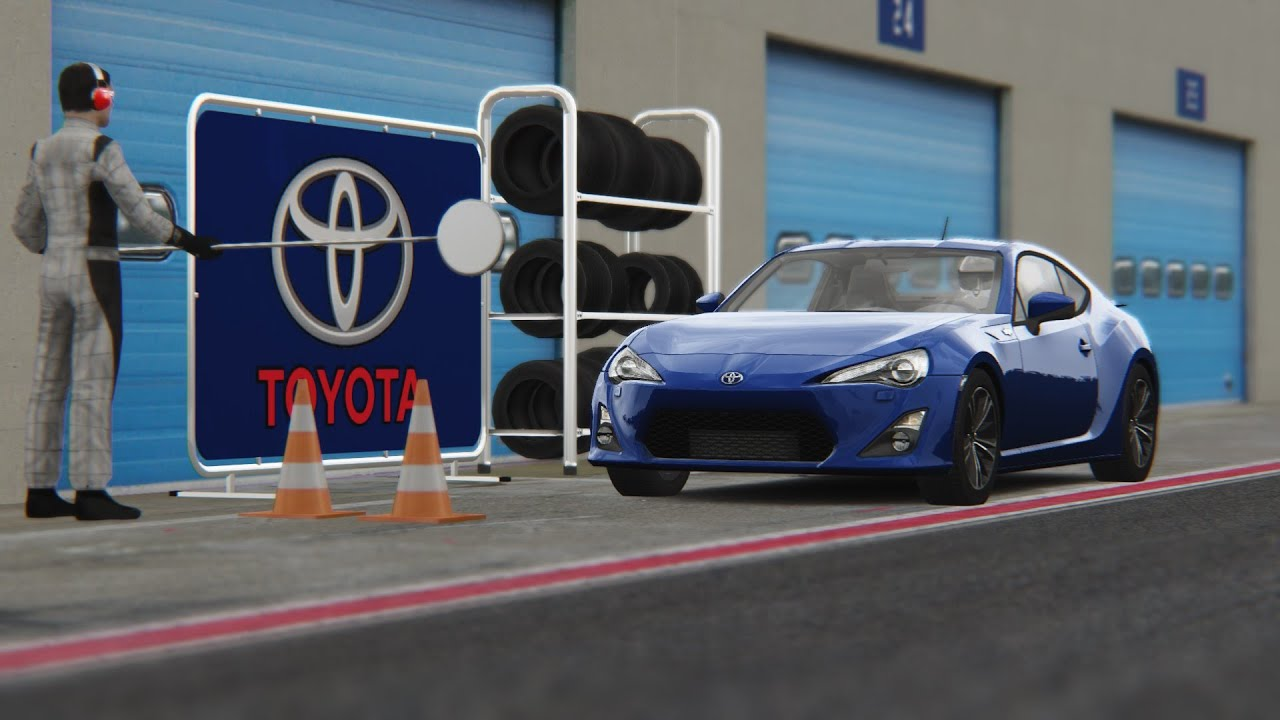 Scion Frs Custom >> Assetto Corsa   Toyota GT86 / Scion FRS / Subaru BRZ   Vallelunga - YouTube