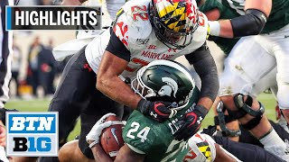 Highlights: Spartans Are Going Bowling   Maryland At Michigan State   Nov. 30, 2019