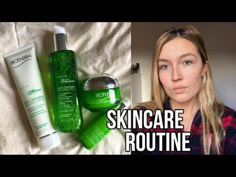 Skincare Routine l Biotherm Skin Oxygen