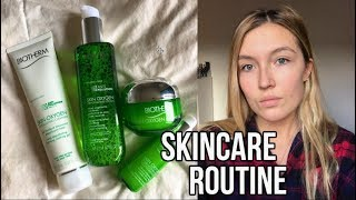 Skincare Routine l Biotherm Skin Oxygen