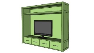 How To Build An Entertainment Center