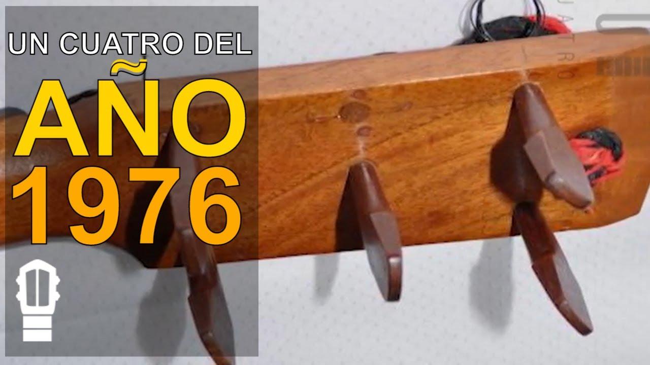 ¡Así suena un cuatro del año 1976! Un Mateo Goyo del año 76 tocado por Alfonso Zanoja