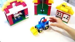 Играем и собираем - Большая Ферма Lego Duplo