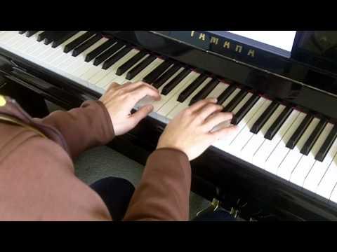 ABRSM Piano 2013-2014 Grade 5 A:3 A3 Handel Allemande In A Minor HWV 478 Slow Demo