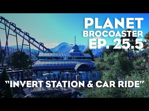 PLANET BROCOASTER - Invert Station, Car Ride & Gift Shop