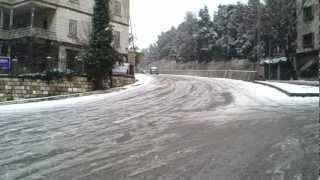 Snow in Aley / Mount Lebanon