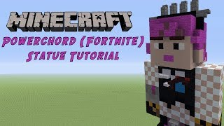 Minecraft Tutorial: Power Chord (Fortnite Battle Royale) Statue