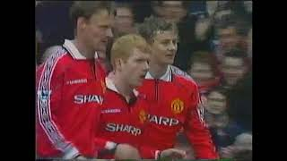 Man Utd v Sheff Wed 1998/99