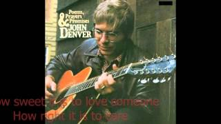 John Denver   Poems, Prayers & Promises