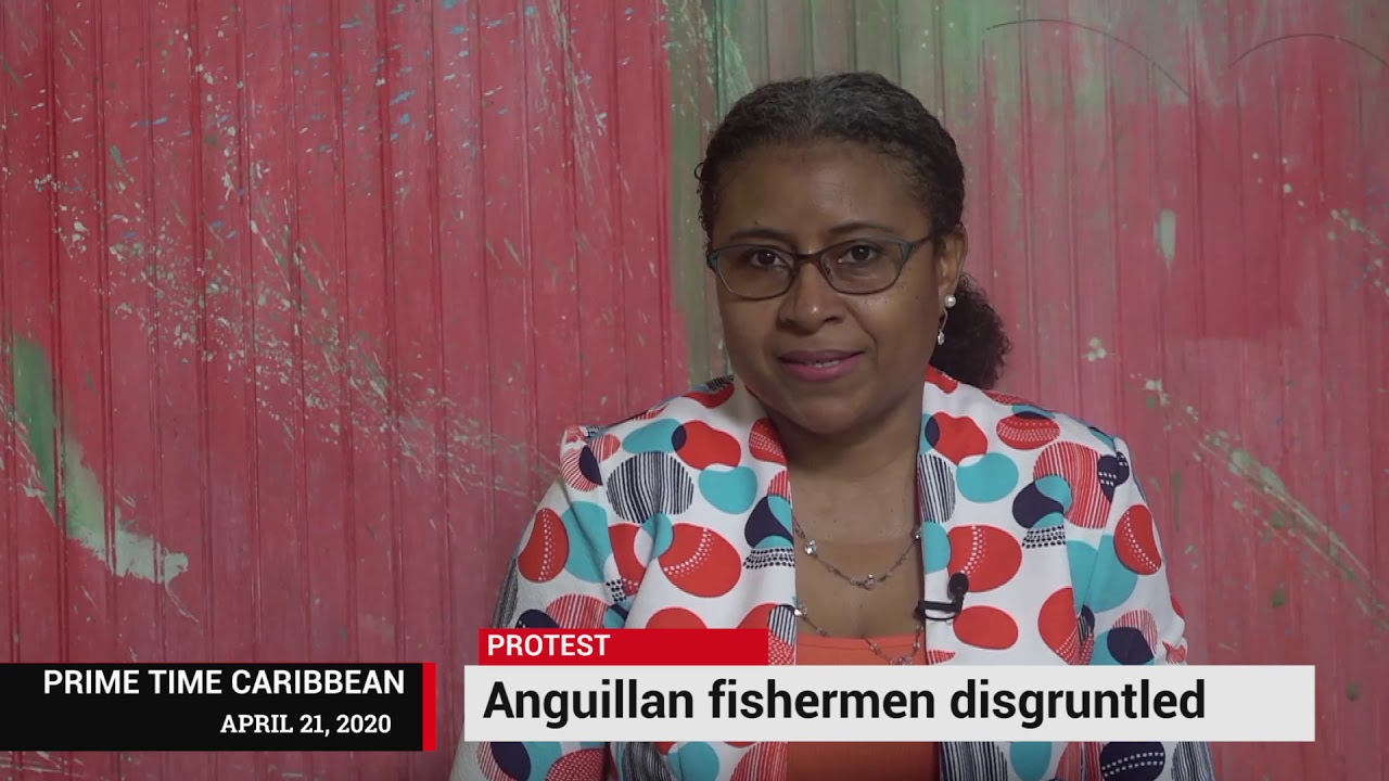 DISGRUNTLED FISHERMEN IN ANGUILLA PROTEST