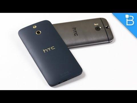 HTC One (E8) vs HTC One (M8) - Can Plastic Rival Aluminum?