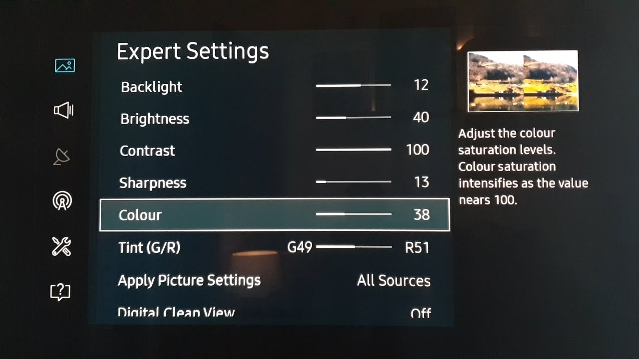 1231 1 Samsung KS Calibration Settings For Firmware on MU/KS Series LED  TV's  KS7000, KS8000, KS9000